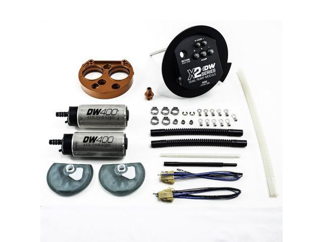 Deatschwerks X2 Series Dual Pump Module W Dw 400 Fuel Pumps 800 Lph 2011 2019 Mustang 9 401 7030 O Ring Mustang Pumps