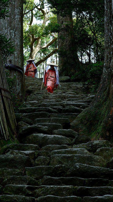 熊野那智大社 和歌山県 Kumano Nachi Taisha, Wakayama, Japan (by Muratagawa on Flickr)