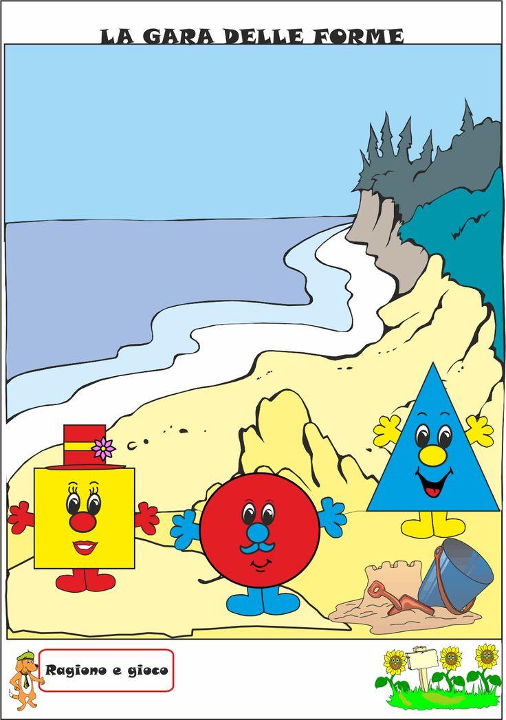 A Scuola con Poldo: La spiaggia delle forme