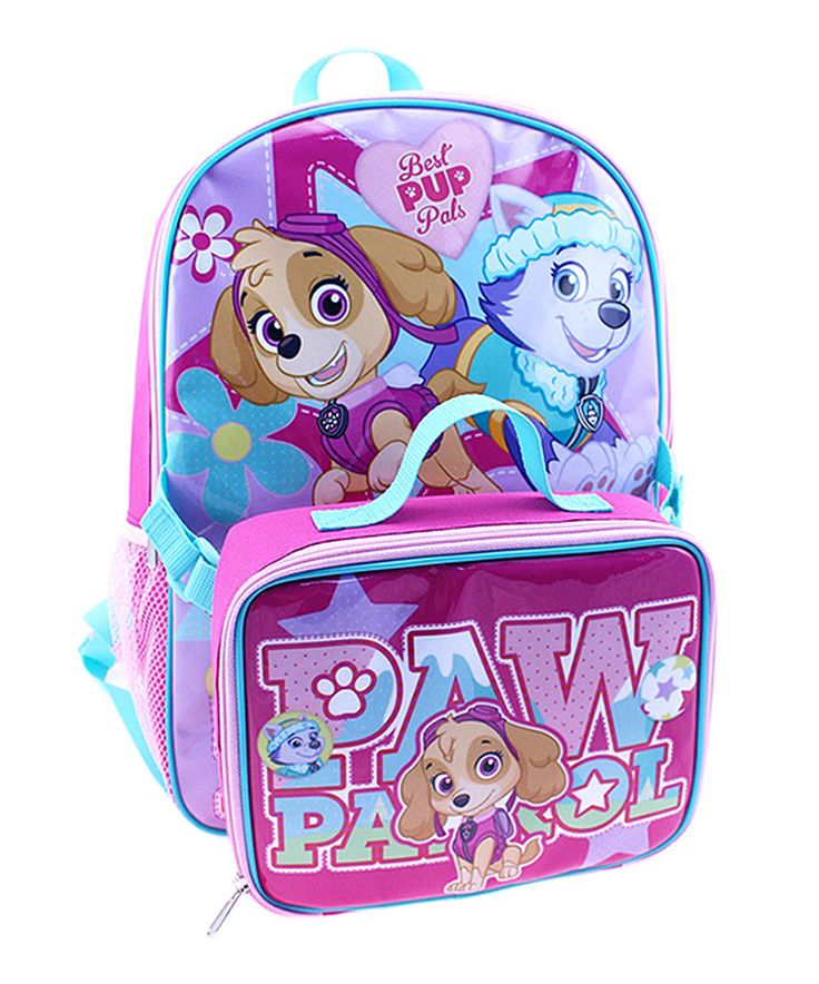 Love this Paw Patrol Backpack & Lunch Bag by Global Design on #zulily! #zulilyfinds
