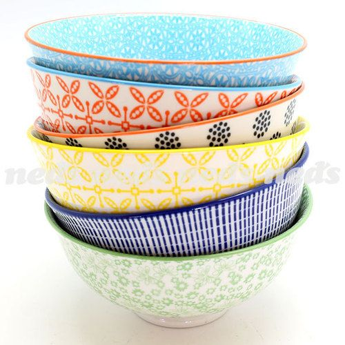 Urban Trend Round Bowl Pk of 6