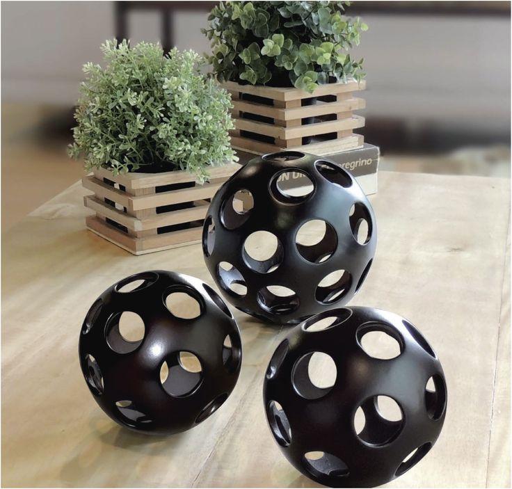 Esferas #basic fabricadas en cerámica