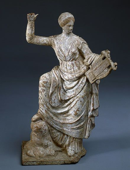 Woman with a Cithara ,   3th century BC