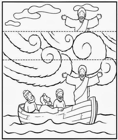 Jesus Calms The Storm Craft Idea