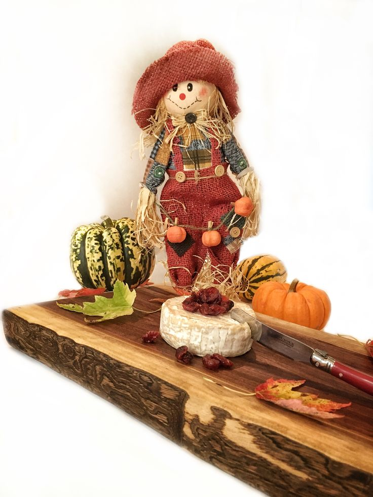 Happy Halloween et vive l'automne! / Planche, présentation, cutting board, automn, cuisine, kitchen, table, decor