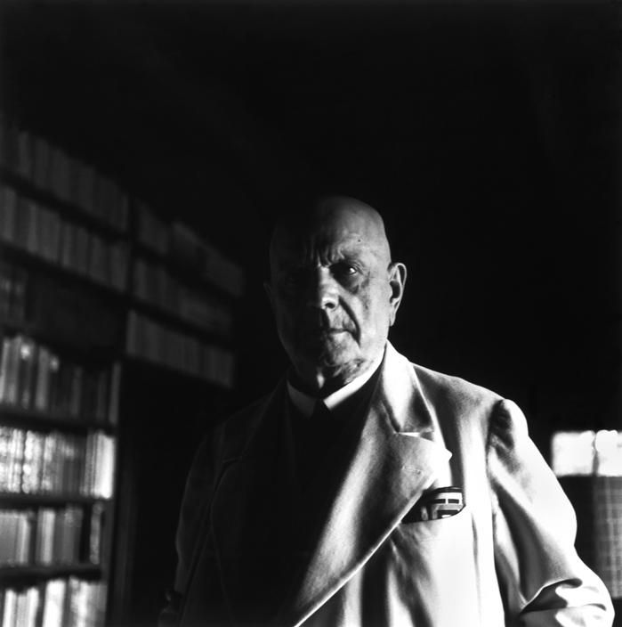 Jean Sibelius, 1948. Photo by Werner Bischof