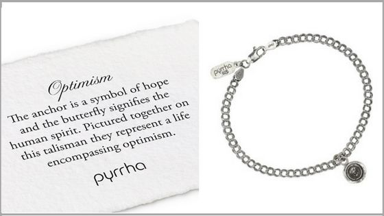 Optimism Charm Bracelet by #Pyrrha
