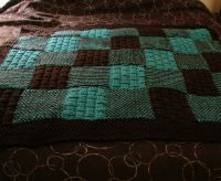 Knitted Patchwork Blanket Pattern : 31 best images about blanket for grandma on Pinterest Patchwork, Patchwork ...