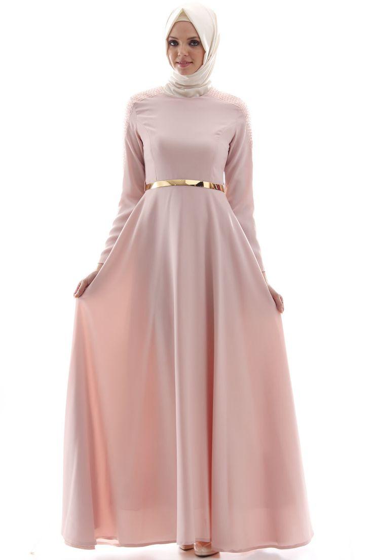 #Simple, #feminine, #modest• MEHREEN BLUSH PINK • from Croyance London