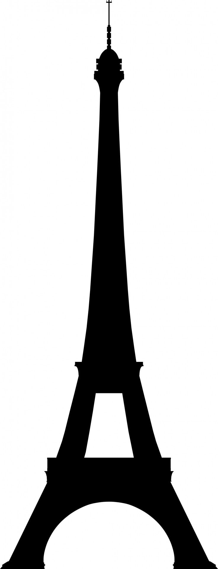 Eiffeltoren Silhouette