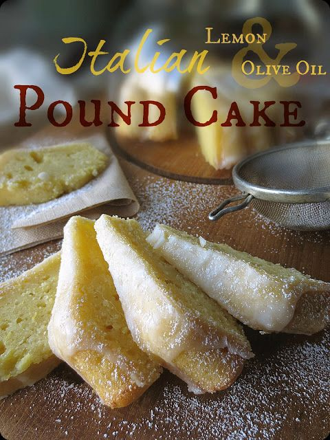 Italian Lemon & Olive Oil Pound Cake | The Brooklyn Ragazza    ᘡղbᘠ