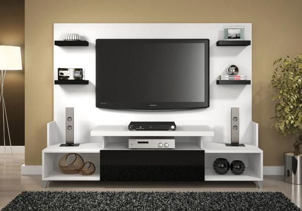 Hacks para tv foto fotos de modelos de hacks estantes ou for Modelos de muebles para tv modernos
