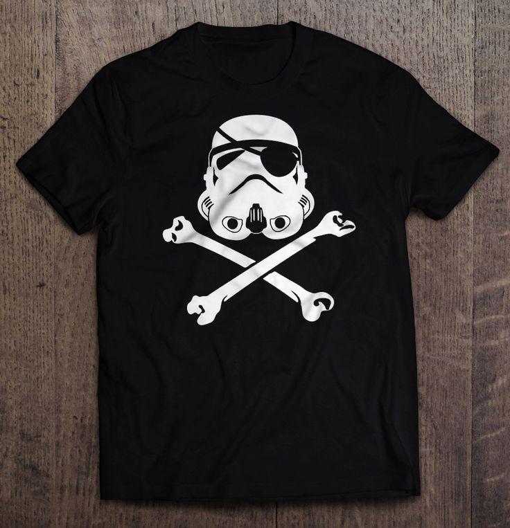 Star Wars - Stormtrooper Pirate T Shirt