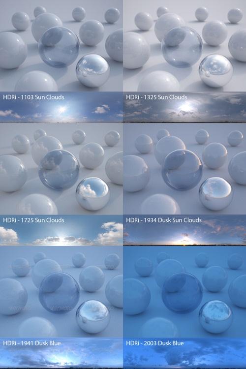 Peter Guthrie HDRI - 1103 Sun Clouds, 1325 Sun Clouds, 1725 Sun Clouds, 1934 Dusk Sun Clouds, 1941 Dusk Blue, 2003 Dusk Blue - 21 Апреля 2012 - CGtrizet