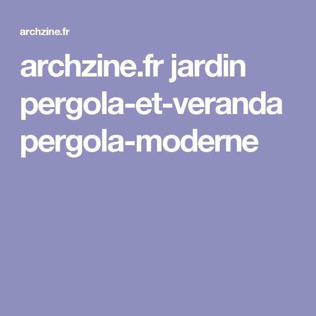 archzine.fr jardin pergola-et-veranda pergola-moderne