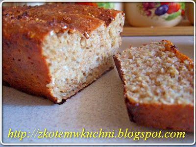 z Kotem w kuchni: Chleb Czosnkowy (grzankowy) - Dukan