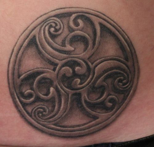 17 best images about celtic tattoo symbols on pinterest for Symbols of death tattoos