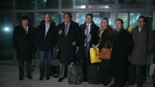 Google head and former US governor in North Korea visit