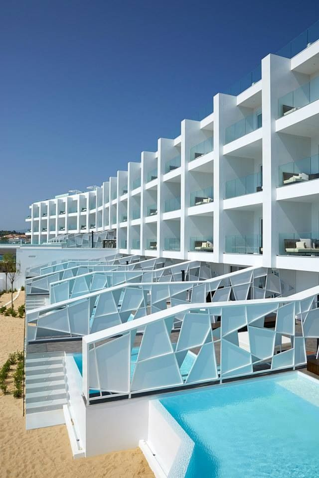 the Hotel and Private Pool Suites