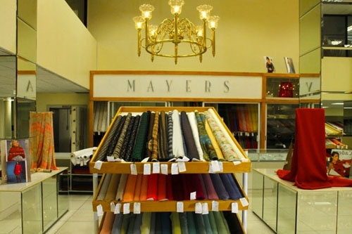 Mayers Bridal and Fabric Shop was founded in 1939 in Cape Town's historic District 6 by the late Albert and Leni Mayer as a specialty business focused on quality fabrics and accessories for the bride, her party and all special occasion wear.
