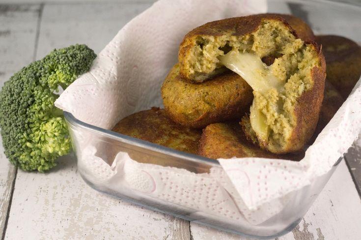 polpette di broccoli filanti