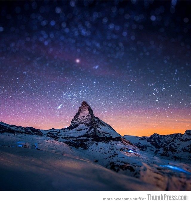 Awesome shoot of Matterhorn Mountain, Switzerland