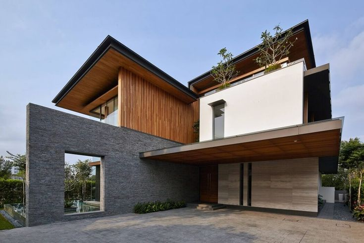 Residence in Singapore by Greg Shand Architects