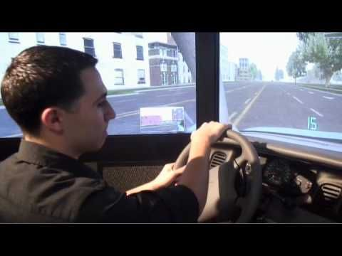 ▶ Video simulator helps teach teens to drive - YouTube