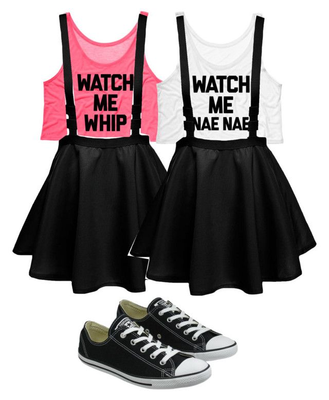 """BFF whip and nae nae I want those shirts!"" by madison-hurley on Polyvore featuring Converse"