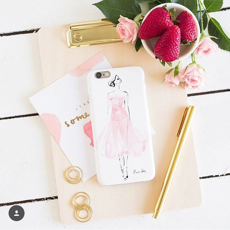 "Kerrie Hess Illustrator auf Instagram: ""Afternoon sweets and tulle with @thedairy  Shop the collection at : www.thedairy.com/collections/kerrie-hess"""