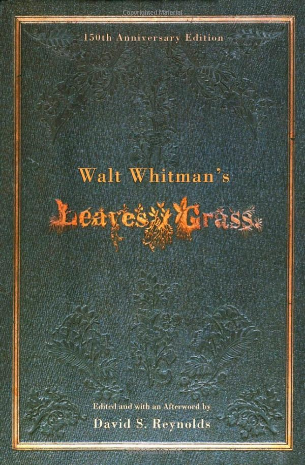 a look at walt whitmans transition in the publication of leaves of grass Thanks so much for the care in packing them they are on the shelves in the library and look beautiful as well as right at home - nancy van hoozer home fine art photography leaves of grass by walt whitman, photos by edward weston, signed le the internals of the book are very clean with.