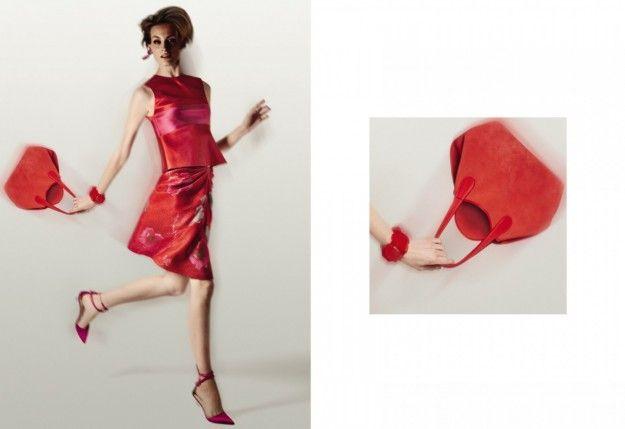 Minidress rosso