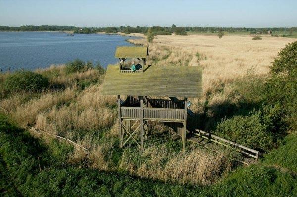 #Vogelkijkhut #Zuidlaardermeer op 10 km afstand van #Oosterweg36 #Haren #Gn