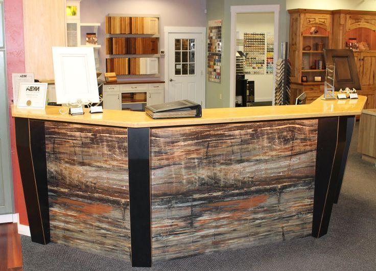 Countertops Petrified Wood Laminate Countertop Farmica Desk Front