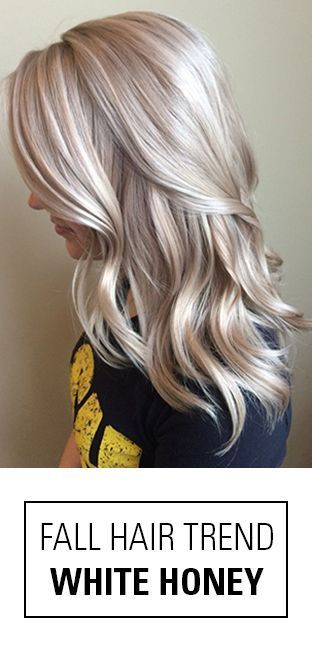 This is the perfect hair color for any blonde wanting to try something new.