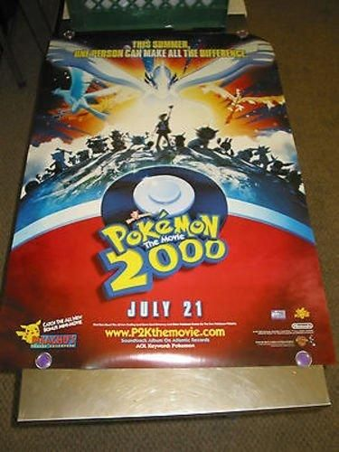 POKEMON 2000 /ORIG. U.S. ONE SHEET MOVIE POSTER () DS