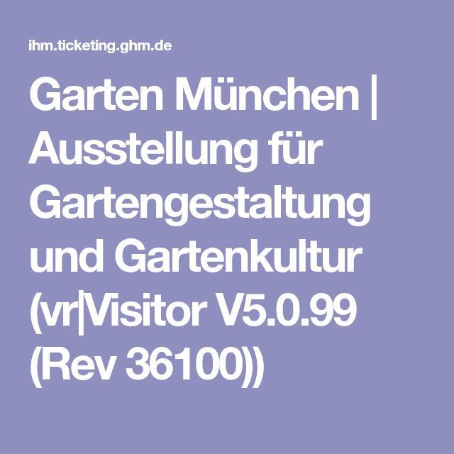 Garten München | Ausstellung für Gartengestaltung und Gartenkultur (vr|Visitor V5.0.99 (Rev 36100))