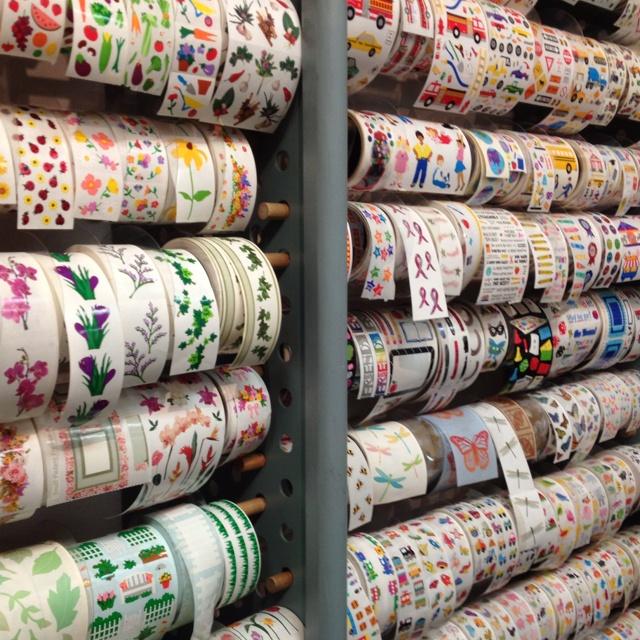Sticker stores