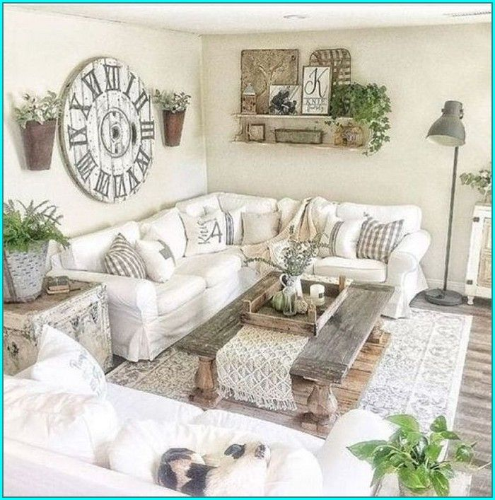Tips To Create Your Own Farmhouse Decor And 39 Farmhouse Decor Reska Farm House Living Room Farmhouse Decor Living Room Modern Farmhouse Living Room Small living room farmhouse decor