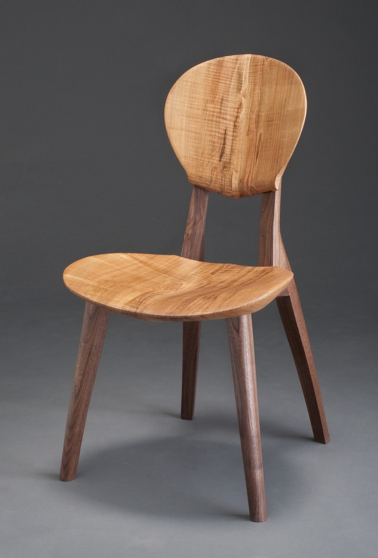 Guitar practice chair - Sonus Chair By Brian Boggs Walnut Legs And Ambrosia Maple Seat