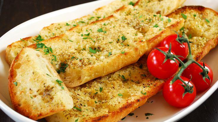 Garlic and Parmesan Bread