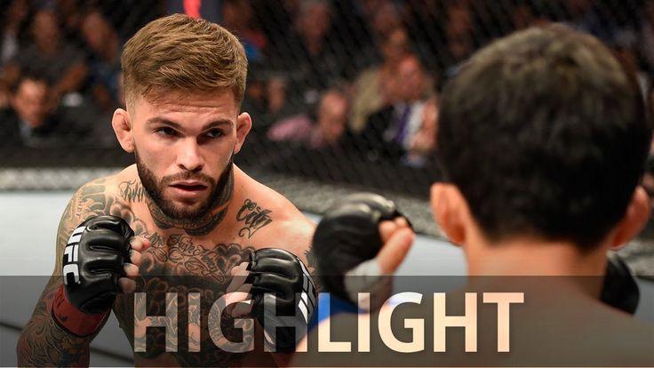 cool Cody Garbrandt's first-round KO of Takeya Mizugaki - 'UFC 202'