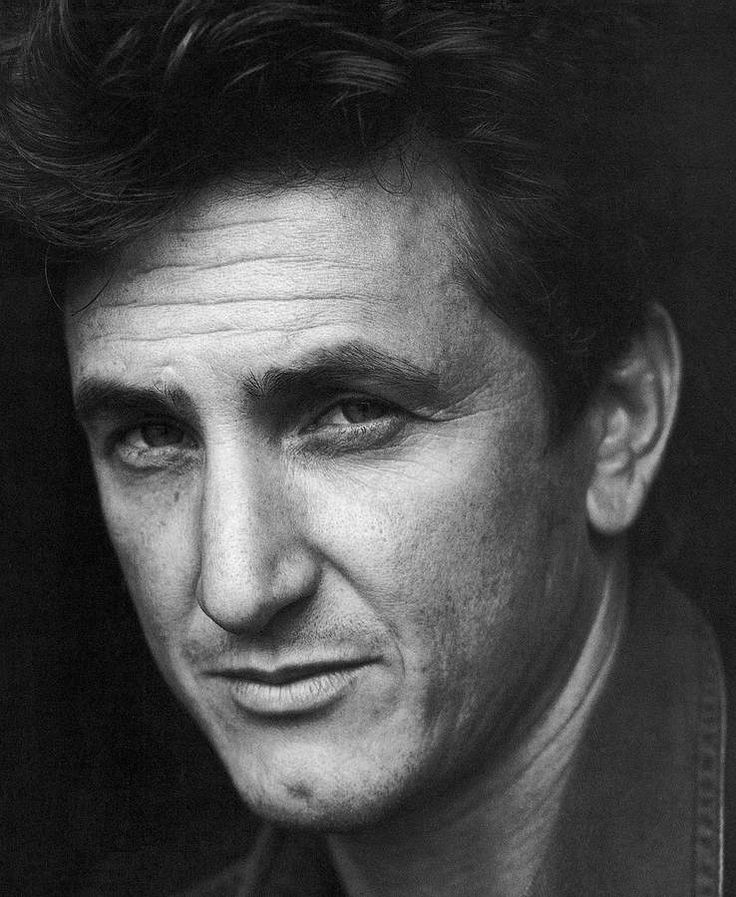 Sean Penn will be a future inspiration in one of my books.