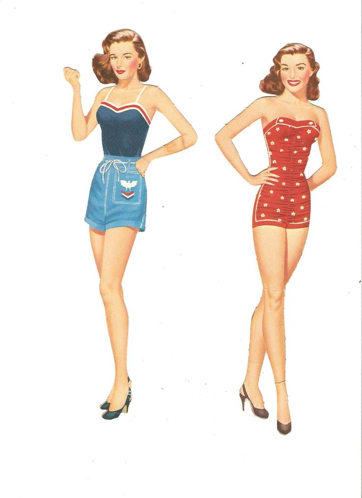 Home Page-Paper Dolls