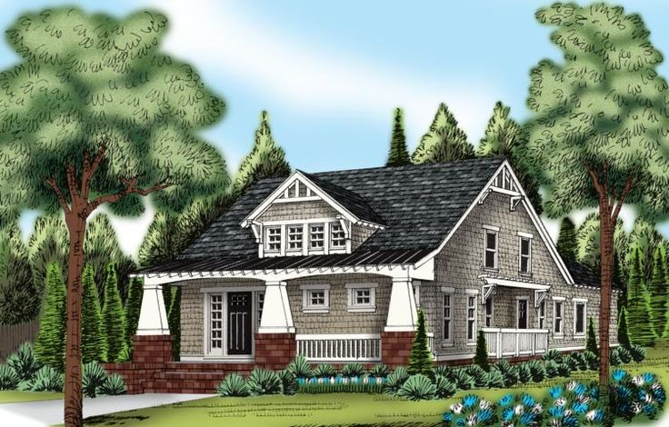 1000 images about bungalow house plans on pinterest for Award winning craftsman home designs
