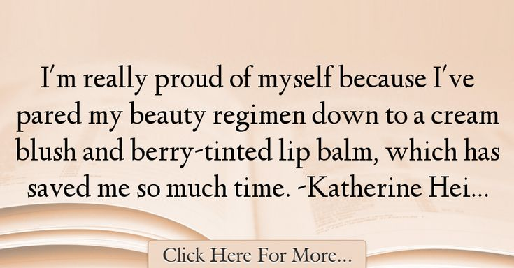 Katherine Heigl Quotes About Beauty - 5565