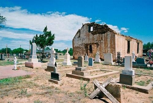 Santa Rosa de Lima Chapel, Santa Rosa, New Mexico, USA, built 1879
