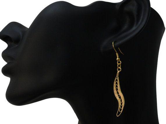 FANTASTIC Geometric Earrings Handmade Charm Drop by PrettyMaNa