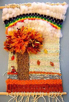 "Weavings - Ellie's ""Fox's Rainbow Dream"""