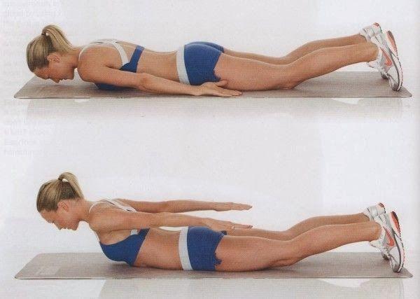 Ejercicios para perder grasa de la espalda - Mejor con Salud